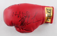Mike Tyson & Evander Holyfield Signed Everlast Boxing Glove (Steiner COA) at PristineAuction.com