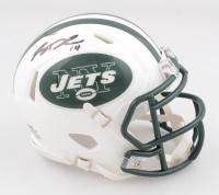 Sam Darnold Signed Jets Speed Mini Helmet (Steiner COA) at PristineAuction.com
