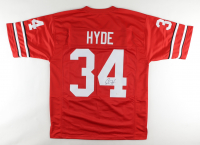 Carlos Hyde Signed Jersey (JSA COA) at PristineAuction.com