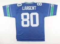 "Steve Largent Signed Seahawks Jersey Inscribed ""HOF '95"" (Fanatics Hologram) at PristineAuction.com"