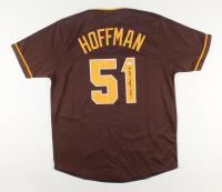 """Trevor Hoffman Signed Jersey Inscribed """"HOF 18"""" (JSA Hologram) at PristineAuction.com"""