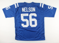 """Quenton Nelson Signed Jersey Inscribed """"1st Rd Pick"""" (JSA COA) at PristineAuction.com"""