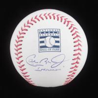 "Cal Ripken Jr. Signed OML Hall of Fame Baseball Inscribed ""Ironman"" (JSA COA) at PristineAuction.com"