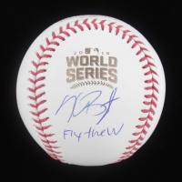 "Kris Bryant Signed 2016 World Series Baseball Inscribed ""Fly the W"" (MLB Hologram & Fanatics Hologram) at PristineAuction.com"