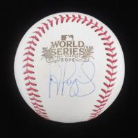 Albert Pujols Signed 2011 World Series Baseball (JSA Hologram & USA SM Hologram) at PristineAuction.com