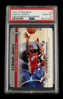 LeBron James 2003-04 Upper Deck Phenomenal Beginning LeBron James #6 (PSA 10) at PristineAuction.com