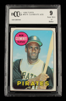 Roberto Clemente 1969 Topps #50 (BCCG 9) at PristineAuction.com