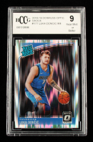 Luka Doncic 2018-19 Donruss Optic Shock #177 Luka Doncic RR (BCCG 9) at PristineAuction.com