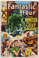 """1970 """"Fantastic Four"""" Vol. 1 Issue #97 Marvel Comic Book at PristineAuction.com"""