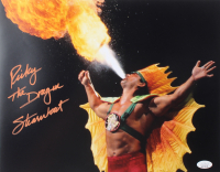 """Ricky """"The Dragon"""" Steamboat Signed WWE 11x14 Photo (JSA COA) at PristineAuction.com"""
