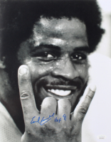 """Earl Campbell Signed Texas Longhorns 11x14 Photo Inscribed """"HOF 91"""" (JSA COA) at PristineAuction.com"""