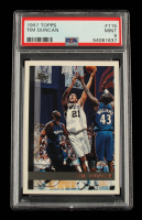 Tim Duncan 1997-98 Topps #115 RC (PSA 9) at PristineAuction.com