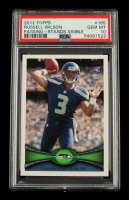 Russell Wilson 2012 Topps #165A RC (PSA 10) at PristineAuction.com
