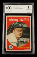 Mickey Mantle 1959 Topps #10 (BCCG 7) at PristineAuction.com