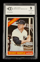 Mickey Mantle 1966 Topps #50 DP (BCCG 9) at PristineAuction.com