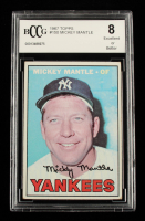 Mickey Mantle 1967 Topps #150 (BCCG 8) at PristineAuction.com