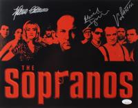 "Vincent Pastore, Michael Imperioli & Federicao Castelluccio Signed ""Sopranos"" 11x14 Photo (JSA COA) at PristineAuction.com"