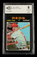Pete Rose 1971 Topps #100 (BCCG 8) at PristineAuction.com