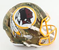 Redskins Full-Size Camo Alternate Speed Helmet (New) at PristineAuction.com
