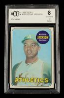 Reggie Jackson 1969 Topps #260 RC (BCCG 8) at PristineAuction.com