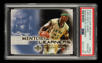 Kobe Byrant / LeBron James 2003-04 UD Top Prospects Mentors and Learners #ML5 (PSA 10) at PristineAuction.com