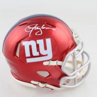 Lawrence Taylor Signed Giants Flash Alternate Speed Mini Helmet (JSA COA) at PristineAuction.com