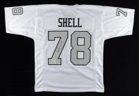 "Art Shell Signed Jersey Inscribed ""HOF 1989"" (JSA COA) at PristineAuction.com"