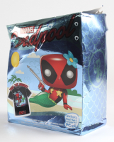 Deadpool - Mermaid Deadpool - #321 Funko Pop! Vinyl Figure with Tee Shirt at PristineAuction.com