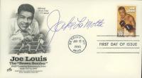 "Jake LaMotta Signed ""Joe Louis The 'Brown Bomber'"" 1993 FDC Envelope (JSA COA) at PristineAuction.com"