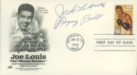"Jake LaMotta Signed ""Joe Louis The 'Brown Bomber'"" 1993 FDC Envelope Inscribed ""Raging Bull"" (JSA COA) at PristineAuction.com"
