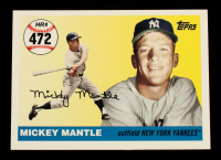 Mickey Mantle 2006 Topps Mantle Home Run History #472 at PristineAuction.com