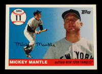 Mickey Mantle 2006 Topps Mantle Home Run History #11 at PristineAuction.com