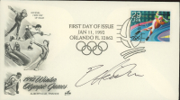 Eric Heiden Signed 1992 Olympics FDC Envelope (JSA COA) at PristineAuction.com