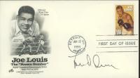 "Lou Duva Signed ""Joe Louis"" 1993 FDC Envelope (JSA COA) at PristineAuction.com"
