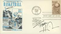 Tom Heinsohn Signed 1961 FDC Envelope (JSA COA) at PristineAuction.com