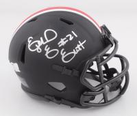 Ezekiel Elliott Signed Ohio State Buckeyes Eclipse Alternate Speed Mini Helmet (Radtke COA) (See Description) at PristineAuction.com
