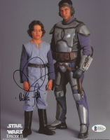 "Daniel Logan Signed ""Star Wars: Episode II – Attack of the Clones"" 8x10 Photo Inscribed ""Boba Fett"" (Beckett COA) at PristineAuction.com"
