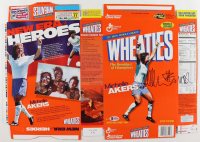 """Michelle Akers Signed Wheaties Cereal Box Inscribed """"USA"""" (Beckett COA) at PristineAuction.com"""