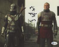 "Michael Biehn Signed ""The Mandalorian"" 8x10 Photo Inscribed ""Lang"" (Beckett COA) at PristineAuction.com"