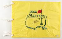 Jose Maria Olazabal Signed 2006 Masters Flag (Beckett COA) at PristineAuction.com