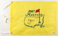 Zach Johnson Signed 2007 Masters Flag (Beckett COA) at PristineAuction.com