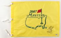 Bubba Watson Signed 2007 Masters Flag (Beckett COA) at PristineAuction.com