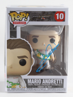 "Mario Andretti Signed ""Mario Andretti"" #10 Mario Andretti Pop! Vinyl Figure (Beckett COA) at PristineAuction.com"