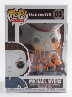 """Nick Castle Signed """"Halloween"""" #03 Michael Myers Funko Pop! Vinyl Figure Inscribed """"The Shape"""" (Beckett COA) at PristineAuction.com"""