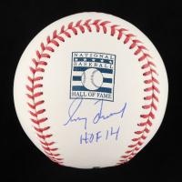 "Greg Maddux Signed OML Hall of Fame Baseball Inscribed ""HOF 14"" (Beckett COA) at PristineAuction.com"