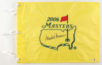 Mark O'Meara Signed 2006 Masters Flag (Beckett COA) at PristineAuction.com