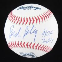 "Bud Selig Signed OML Hall Of Fame Logo Baseball Inscribed ""HOF 2017"" (Beckett COA) at PristineAuction.com"