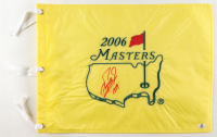 """Fuzzy Zoeller Signed 2006 Masters Flag Inscribed """"1979"""" (Beckett COA) at PristineAuction.com"""