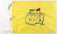 Vijay Singh Signed 2007 Masters Flag (Beckett COA) at PristineAuction.com