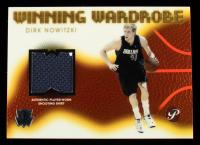 Dirk Nowitzki 2004-05 Topps Pristine Winning Wardrobe #DN at PristineAuction.com
